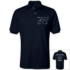 Family Cruise Polo Shirt - Pool