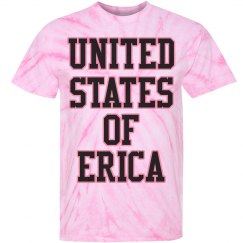 United States of Erica Pink Tie Dye