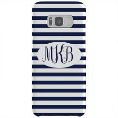 Custom Trendy Initials Phone Case