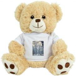 Winter Landscape Teddy Bear