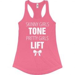 Pretty Girls Lift Funny Fitness