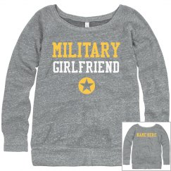 Army Girlfriend Custom Name