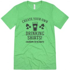 Shamrock Custom Drinking Shirt