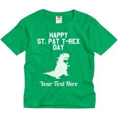 Happy St. Pat T-Rex Day