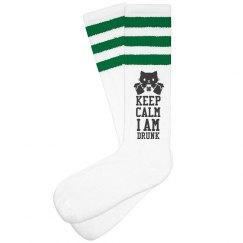 St. Patrick's Drunk Socks