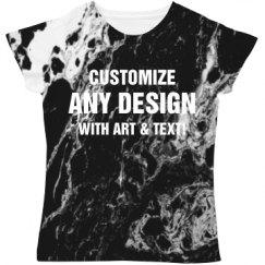Custom Marble Print Apparel
