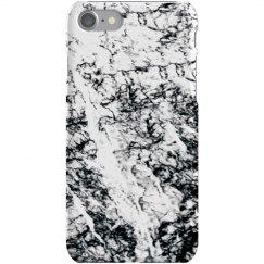 Marble Print Black & White Case