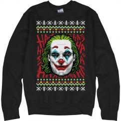 Joker 2019 Ugly Christmas Sweater