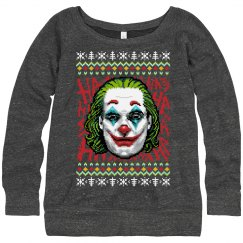 Nerdy Joker 2019 Xmas Ugly Sweater