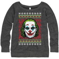 Nerdy Joker 2019 Xmas Ugly Sweater