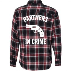 Partners In Crime Flannel