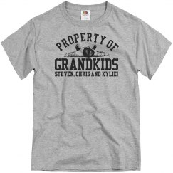 Property Of Grandkids