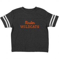 Minster Wildcats toddler