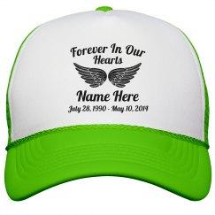 Rest In Peace Wings Hat