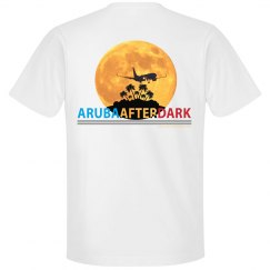 Aruba After Dark Excl By KAD | Mens Crew Neck Back Logo