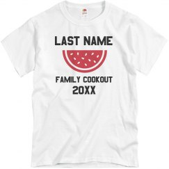 Custom Last Name Family Cookout