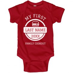 Custom My 1st Family Cookout