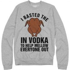 Turkey Basted in Vodka
