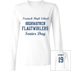 Senior Day Long Sleeve Women's Shirt