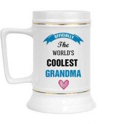 Coolest Grandma Glass