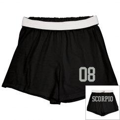 Scorpio Sporty Zodiac Shorts