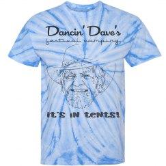 Dave's Face - Tie Dye
