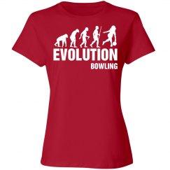 Evolution bowling shirt