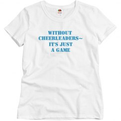 Just a game cheer tee