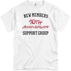 New members 10th anniversary