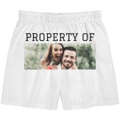 Custom Property Of Uploaded Photo