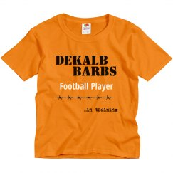 Football Player in training