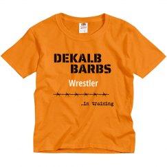 Wrestler in training