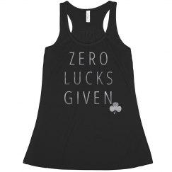 Metallic Irish Zero Lucks Given
