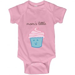 Mom's Little Cupcake Infant Onesie