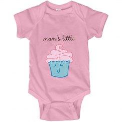 Mom's Little Cupcake Infant Onesie