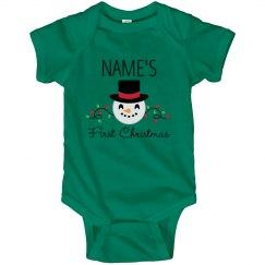 Baby's First Emoji Christmas