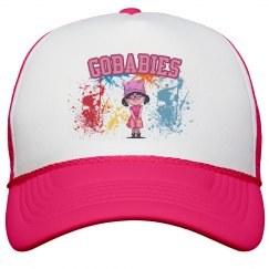 GOBABIES OTTO Poly-Foam Neon Snapback Trucker Hat