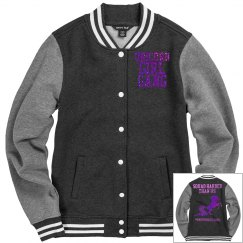 Unicorn varsity jacket