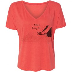 I Support Pulling Out - Women - Flowy Slouchy V Neck T