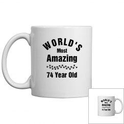 Amazing 74 year old