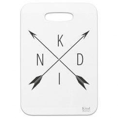 Bag tag Kind compass