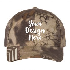 Customizable Camo Print Hats