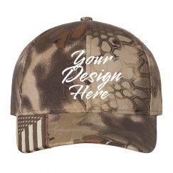 Customizable Camo Print Hats