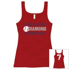 Catch Me On The Diamond Baseball Tank