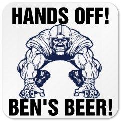 Ben's Football Coaster