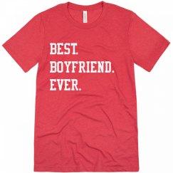 Best. Boyfriend. Ever. Matching Couples Valentine's Day