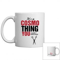 It's a Cosmo thing coffee