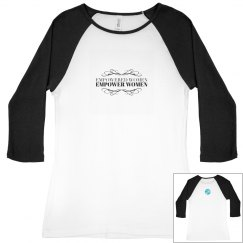Empowered Women Baseball Tee