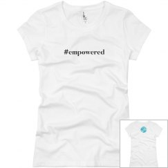 #empowered Short Sleeve Tee