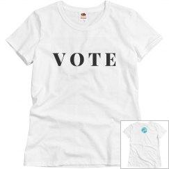 Vote tee